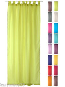 Image Is Loading TAB TOP ORGANZA VOILE NET CURTAIN PANEL EXTRA