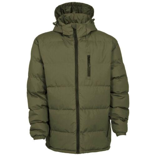 Trespass Mens Clip Padded Hooded Full Zip Winter Outdoor Jacket//Coat TP842