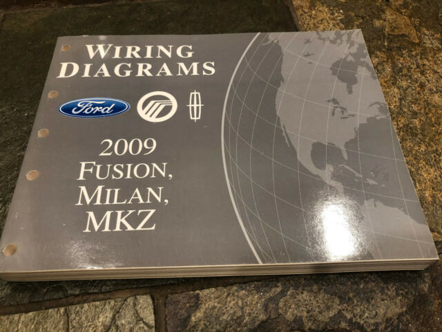 2009 Ford Fusion Lincoln Mkz Milan Wiring Diagrams