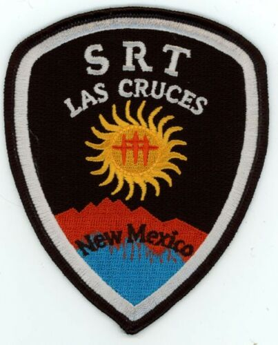 LAS CRUCES POLICE SRT NEW MEXICO NM PATCH SHERIFF COLORFUL
