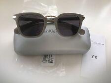df04b44ddd1 Calvin Klein Sunglasses CK Jeans Grey Preppy CKJ775S New with Case RRP £110