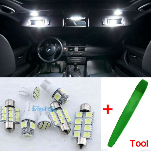 XENON WHITE SEAT LEON II MK2 ERROR FREE INTERIOR CAR LED LIGHT BULBS KIT