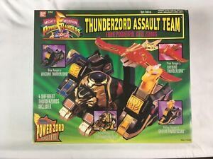 Équipe d'assaut Bandai Thunderzord 2262 Power Rangers Mighty Morphin 1994 Scellé 45557022624