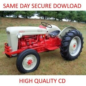1953-1959-FORD-NAA-600-601-800-801-2000-4000-Tractor-SERVICE-MANUALS-Shop-Parts