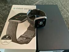 Fitbit FB505BKGY Versa Special Edition - Charcoal Woven Band