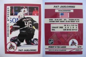 2015-SCA-Pat-Jablonski-Phoenix-Coyotes-goalie-never-issued-produced-d-10-rare