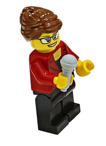 minifigs-City-cty1045-Reportera Lego ® 60233