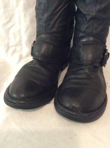 Smith Knee 41 Black Size High Leather Boots Windsor SHqETdwS