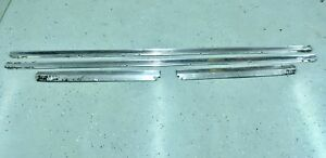 1974 Buick Lesabre 2 Door Convertible Rocker Moldings Trim Donk 74 Ebay