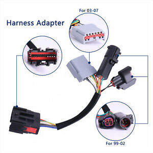 2x Wiring Harness Adaptertow Mirrors Adapter For Ford F250 F550 Superduty 99 07 Ebay