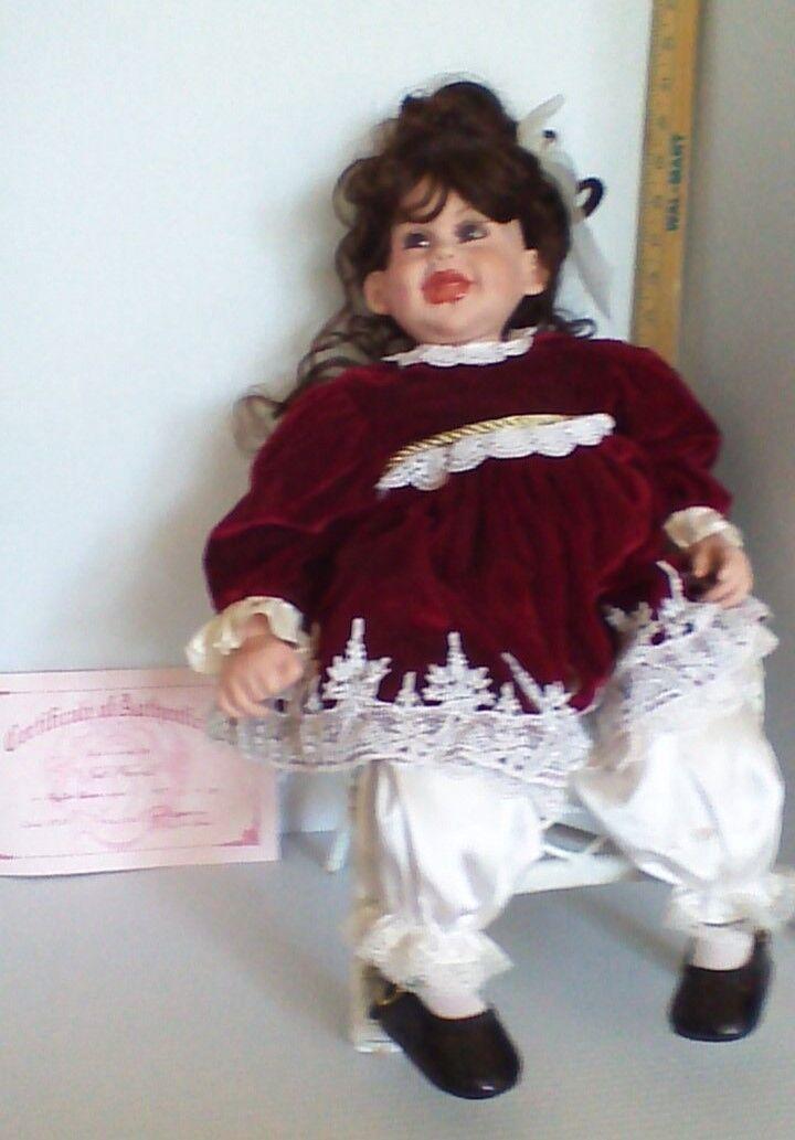 FayZah Spanos Precious Heirloom 22  Doll  Just Precious