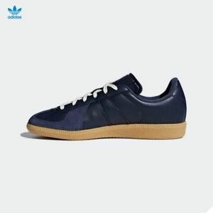 wholesale dealer ca7ce 28636 Image is loading Adidas-Original-BW-Army-Leather-Shoes-Navy-CQ2756-
