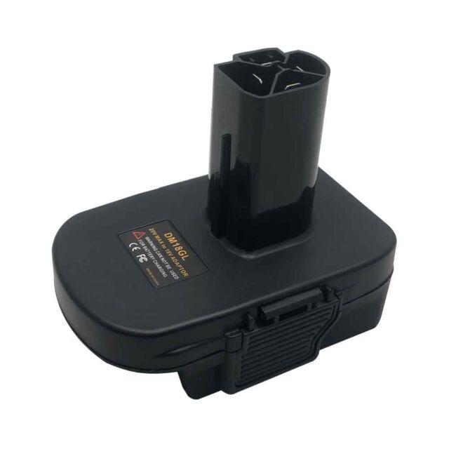 Battery Adapter FOR DEWALT Milwaukee Convert to CRAFTSMAN 19.2V CORDLESS PLUG