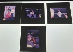Lot-Of-4-Vintage-Color-Photo-Slides-Of-Gypsy-And-Waiter-Carnival-1961