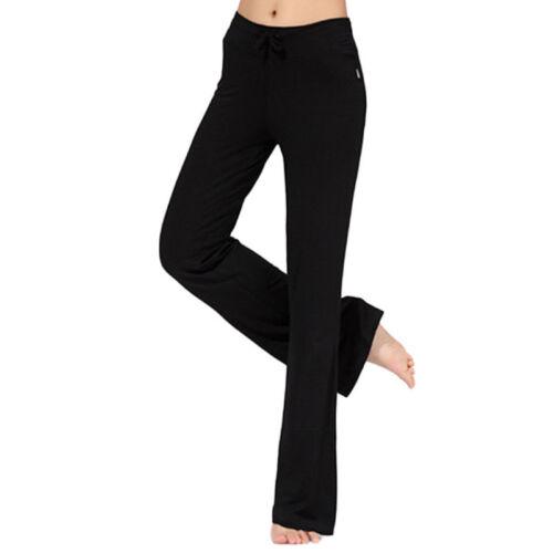 US Women Yoga Leggings Fitness Running Gym Pants High Waist Athletic Trousers