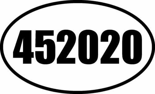 TRUMP 45 PRESIDENT SECOND TERM 2020 DECAL BUMPER STICKER MAGA AMERICA FIRST