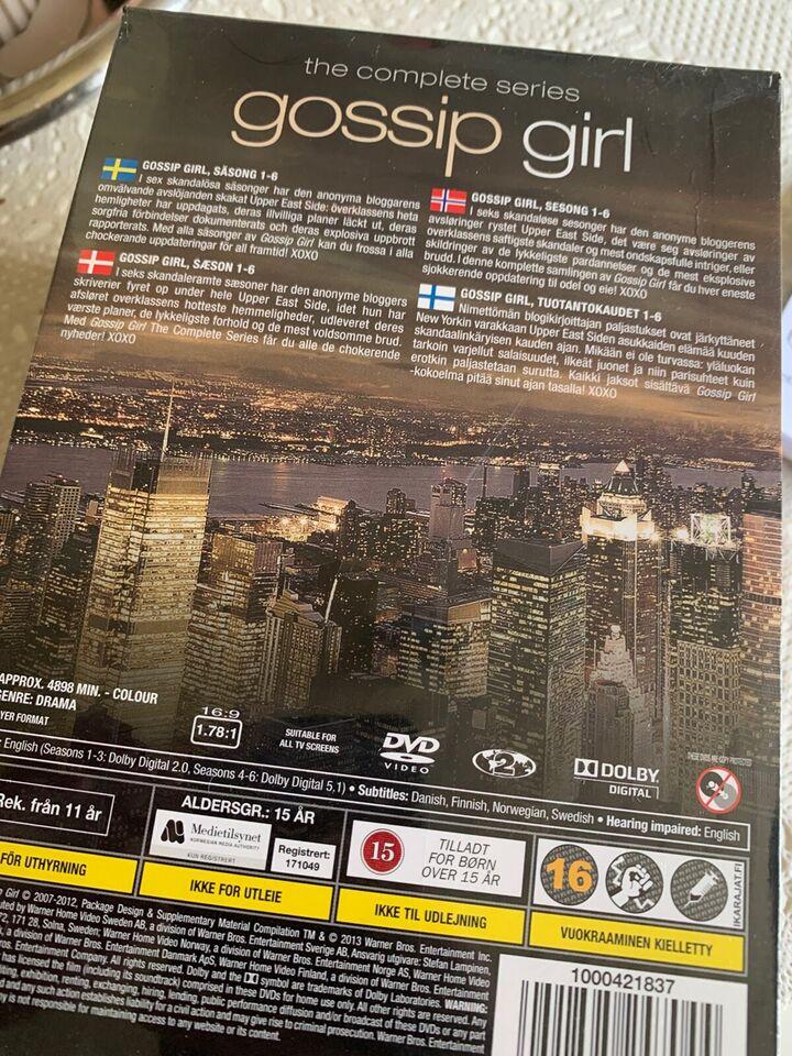 Gossip girl komplet, DVD, TV-serier