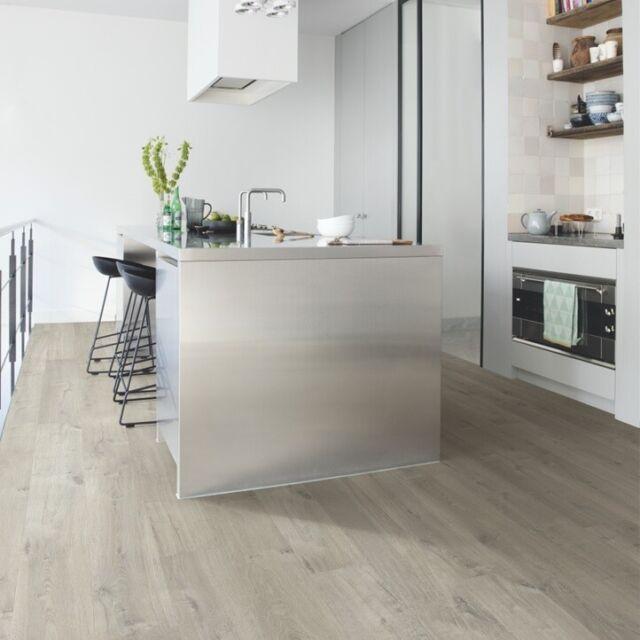 Quick Step Laminate Flooring >> Quick Step Impressive Grey Natural Oak Uniclic Laminate Flooring 1 835 M2