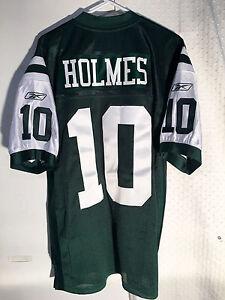 Details about Reebok Authentic NFL Jersey Jets Santonio Holmes Green sz 48