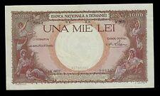 ROMANIA  1000  LEI  1936  K   PICK # 46  AU-UNC  BANKNOTE.