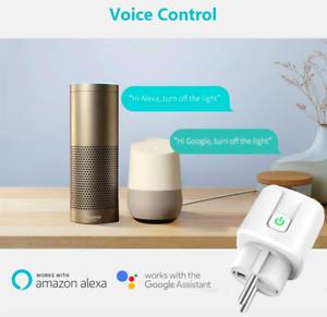 SMART-PLUG-Presa-WIFI-Intelligente-Timer-Alexa-Google-Home-IOS-Android-SCONTO