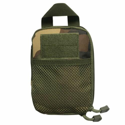 Army Camo Combat Tactical Pouch Waist Belt Bag HandBag Loop Holster Outdoor