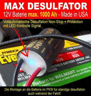 12 Volt Blei-SäUre-Batterie-Desulfator-Bausatz Mit Reverse-POL-Schutz QualitäT