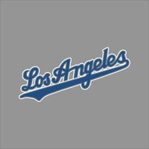 Los Angeles Dodgers 5 Mlb Team Logo Vinyl Decal Sticker