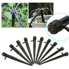 10PCS Adjustable Flow Irrigation Drippers 360 Degree Emitter Drip System
