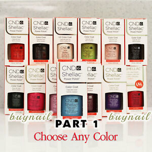 Gel-Polish-CND-Shellac-NEW-Nail-Colours-7-3ml-0-25-fl-oz-Part-1-Choose-Any