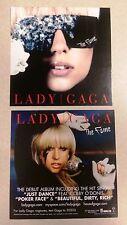 """Lady GaGa Rare """"The Fame"""" Promo Postcard *NEW*"""