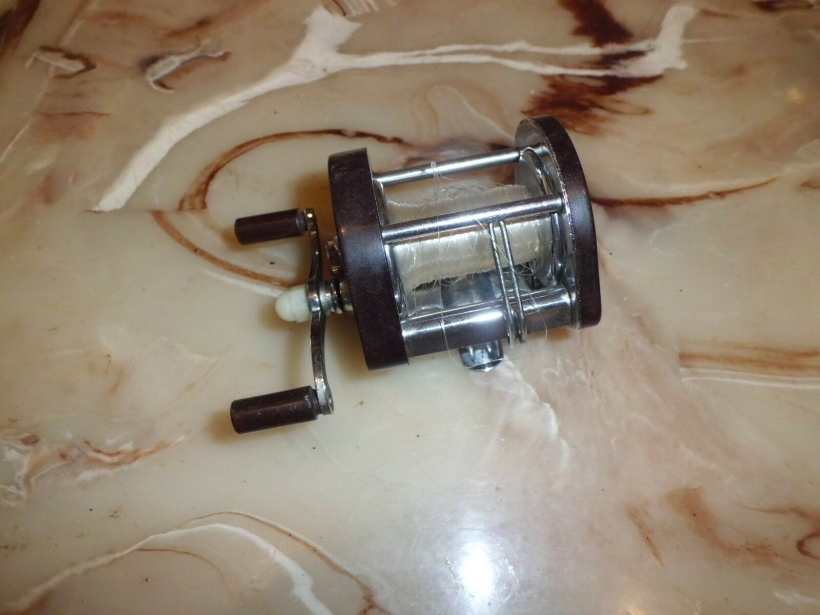 Vintage A.F. Meisselbach Casting Reel made in USA