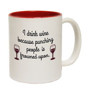 I Crochet Because Punching People Is Frowned Upon Mug Gift for Crochet Lovers