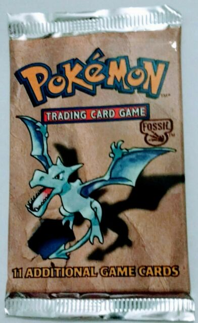 Pokemon wotc 1999 Sealed Fossil Booster Pack