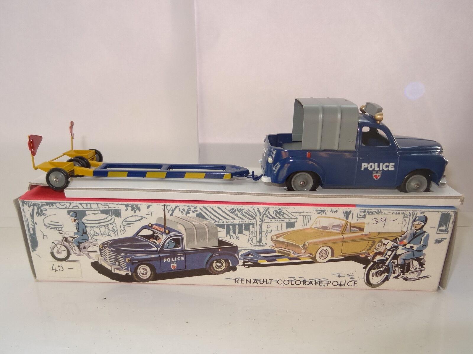 CIJ Europarc RENAULT ColorALE policía-como Nuevo En Caja 3 55 00
