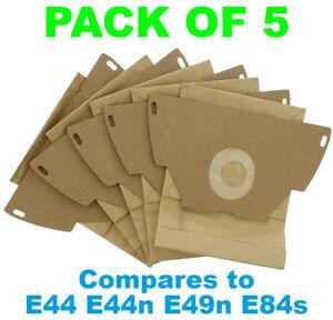 Electrolux Z1160 Z1160e Z1170 Sacs D'aspirateur E44 E44n E49n E84s Pack De 5-afficher Le Titre D'origine Renforcement De La Taille Et Des Nerfs