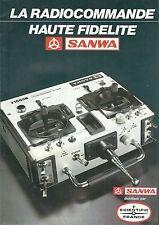 Catalogue dépliant SANWA radiocommande modélisme