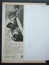 6/1975 PUB LINHOF PRAZISIONS KAMERA PHOTO AERIENNE LUFTBILD FRENCH ADVERT
