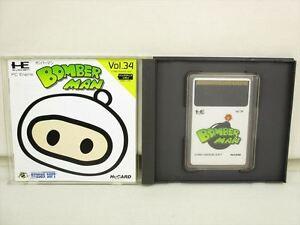 Bomberman-MINT-Condition-PC-Engine-Hu-PCE-Grafx-Japan-Game-pe