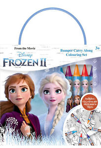 Disney-Frozen-2-Bumper-Carry-Along-Colouring-Set-Crayons-Travel-Activity-Kids