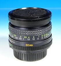 Minolta Rokkor 1.7/50mm für Minolta MD Objektiv lens objectif - (203105)