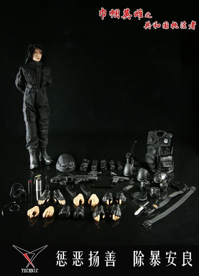 Technic Toys HEROINE Law Enforcer - PRC Female Police S.W.A.T Officer 1/6 Figure