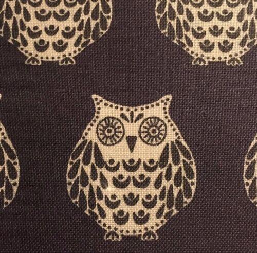 MakowerUK /'Papillon/' Owls on Grey