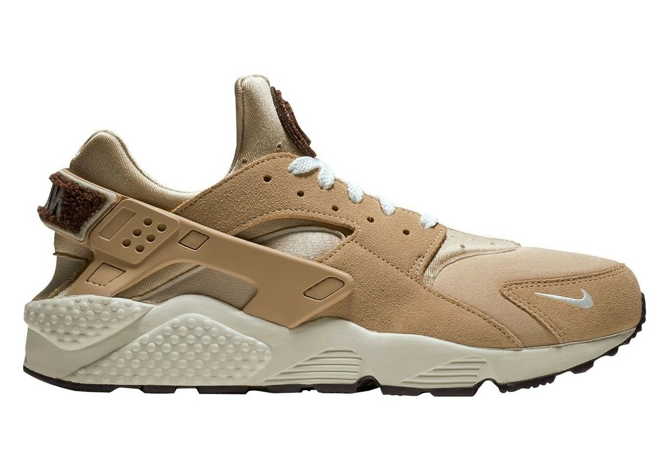 Nike Air Huarache Run Premium Mens 704830-202 Desert Sail Running Shoes Size 8