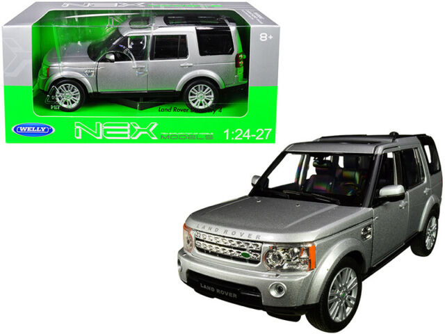 Welly 1:24 Land Rover Defender Diecast Model Car Travel Edition New in Box Green