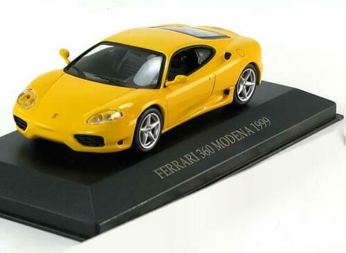 1:43 Ixo Ferrari 360 Modena Coupe 1999 yellow