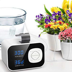 tomight Automatic Irrigation System, Plant Self Watering System with Max 60-Day