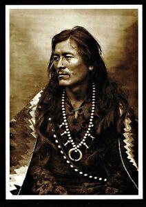 977-Postcard-Many-Arrows-Navajo-Warrior-Photo-by-Adam-Vroman-1903-NEW