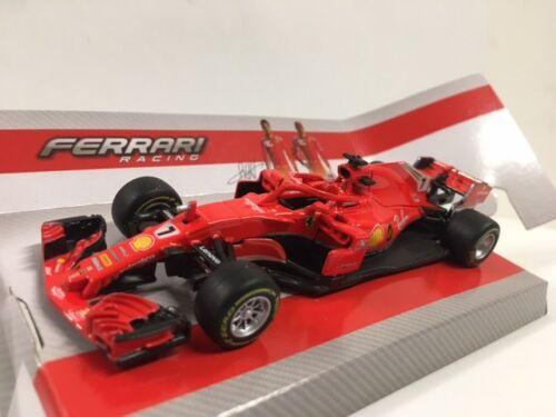 Ferrari F1 SF71H #7 Season 2018 Kimi Raikkonen BURAGO 1:43 BU36809R