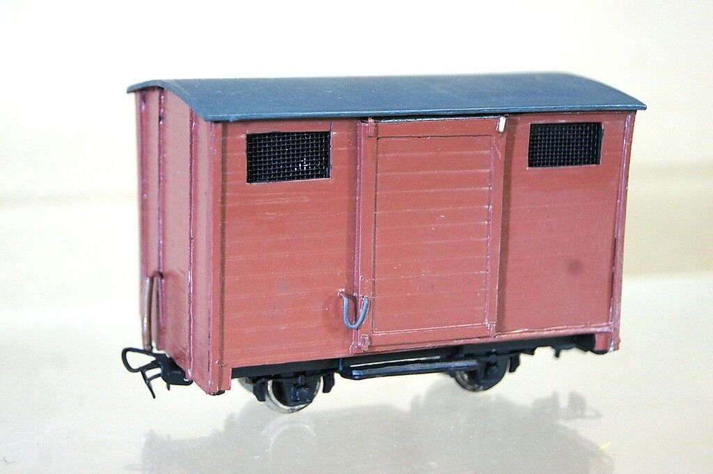 alta calidad y envío rápido KIT BUILT BACHMANN SPECTRUM On30 CLOSED GOODS WAGON NICE NICE NICE mz  autentico en linea